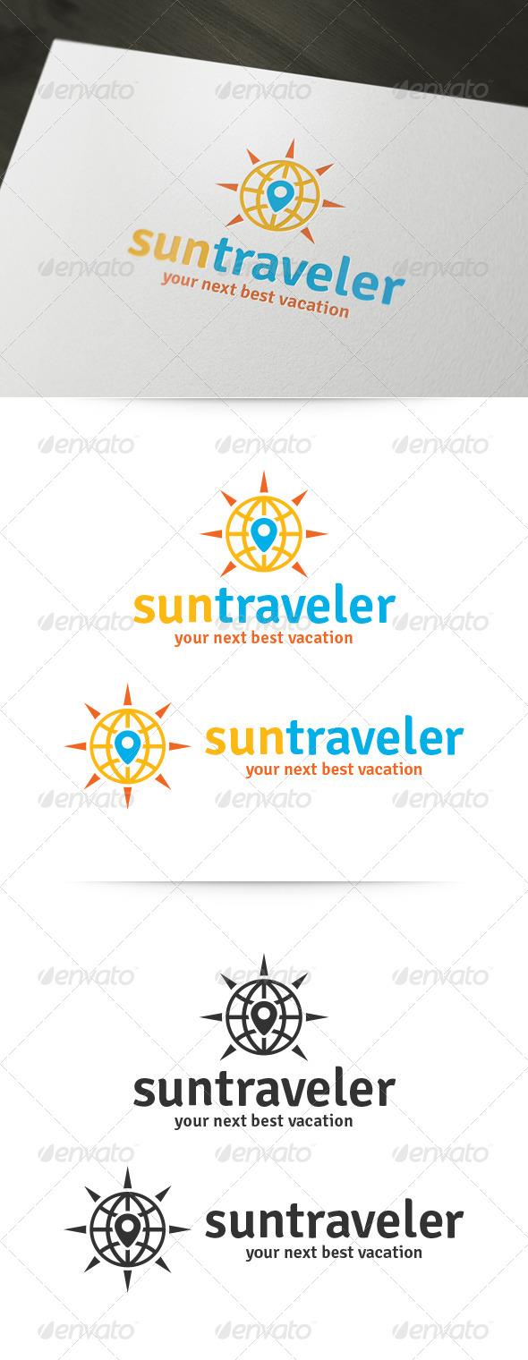 Sun Traveler Logo - Symbols Logo Templates