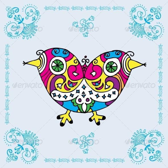 Love Bird Card - Miscellaneous Seasons/Holidays