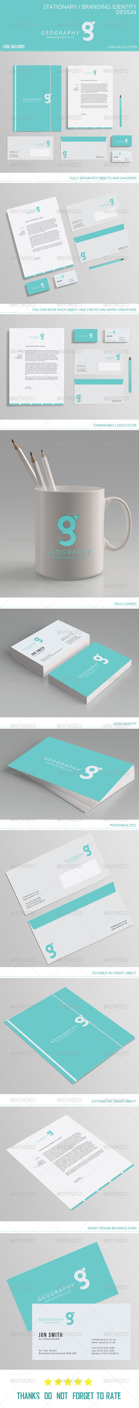 Stationary Branding identity design - Stationery Print Templates