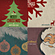 Vintage Christmas Backgrounds - GraphicRiver Item for Sale