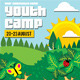 Youth Camp Flyer Template - GraphicRiver Item for Sale