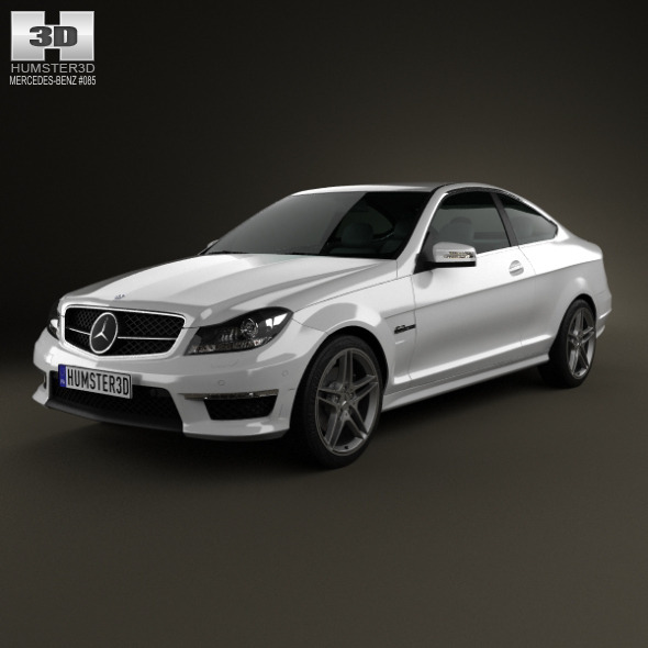 Mercedes-Benz C-Class 63 AMG coupe 2012