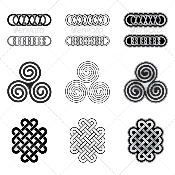 Celtic Knots Models and Patterns - Patterns Decorative