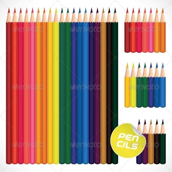 Color Pencils Collection - Miscellaneous Conceptual