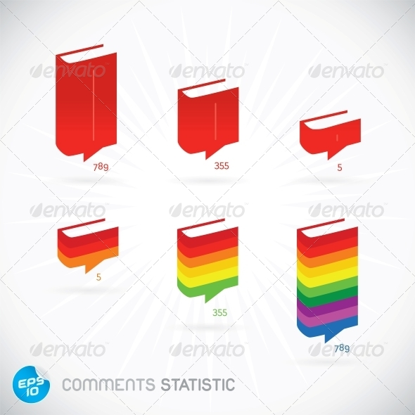 Comments Statistic Symbols - Miscellaneous Conceptual
