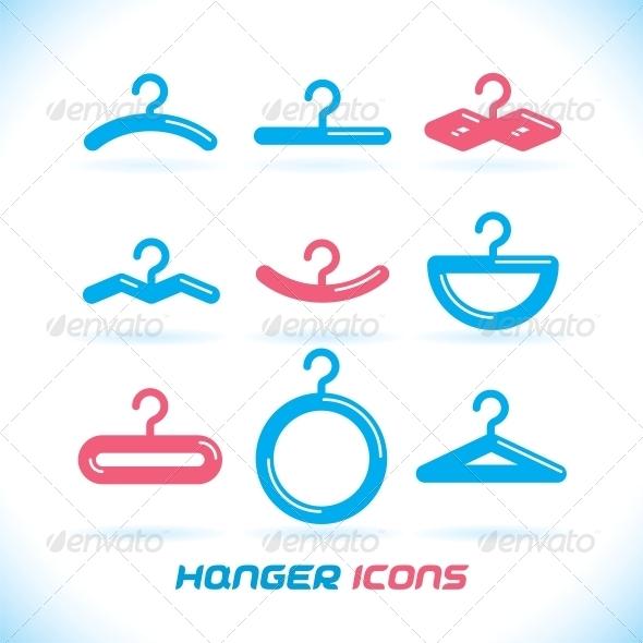 Hanger Icons - Miscellaneous Conceptual