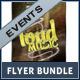 Concert Event Flyers - Bundle - GraphicRiver Item for Sale
