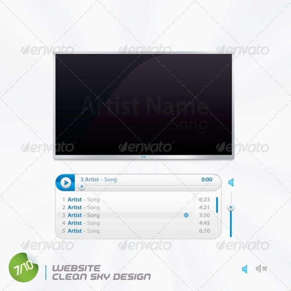 Website Clean Sky Design - Miscellaneous Conceptual