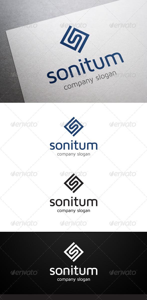 Sonitum S Letter Logo - Letters Logo Templates