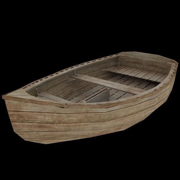 Boat Model - 3DOcean Item for Sale