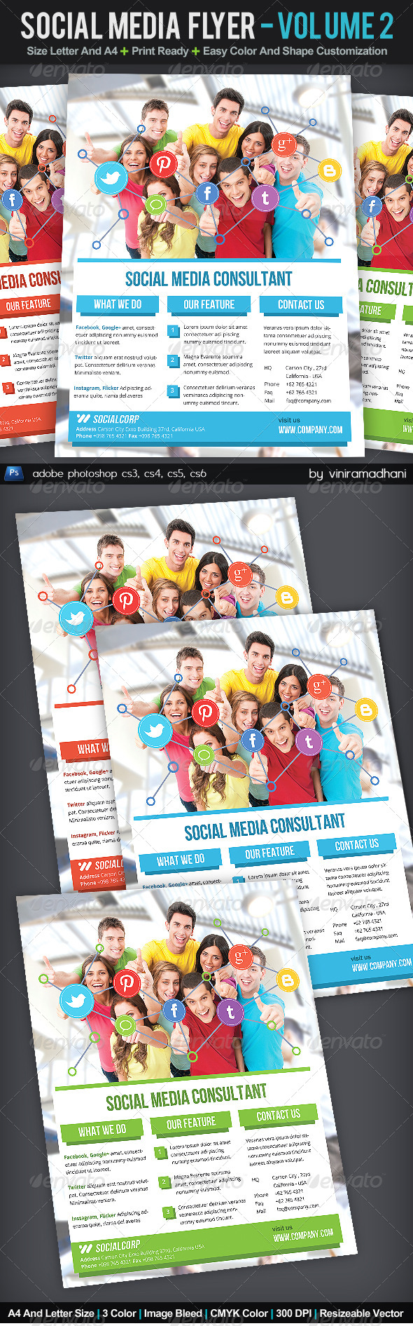 Social Media Flyer | Volume 2 - Corporate Flyers