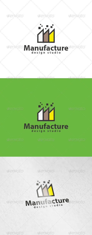 Manufacture Logo - Buildings Logo Templates