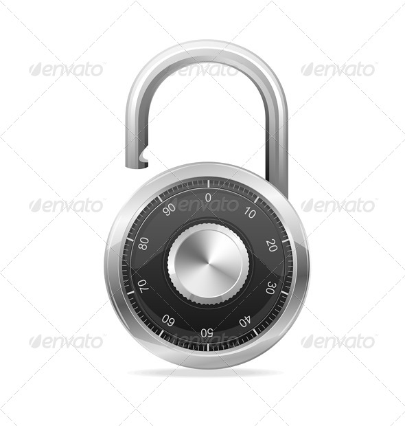 Padlock - Objects Vectors