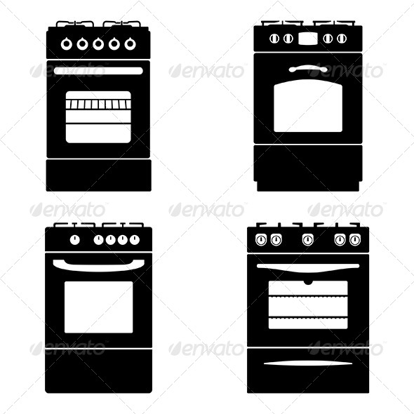 Gas Stoves - Man-made Objects Objects