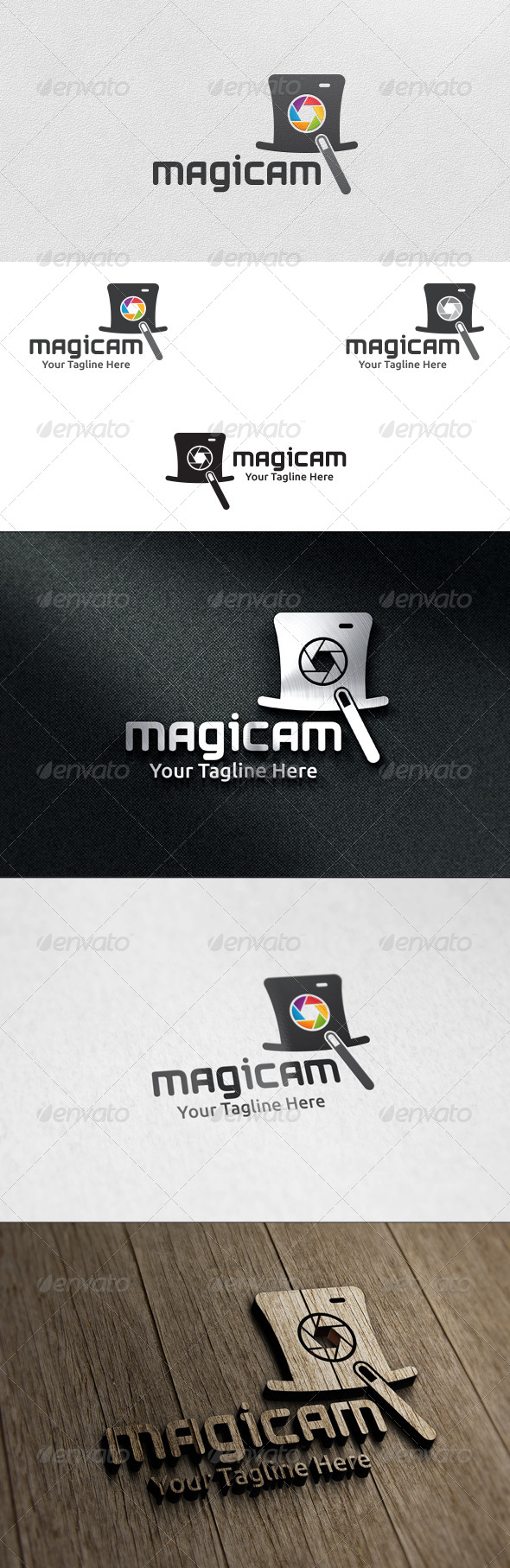 Magic Camera - Logo Template - Objects Logo Templates