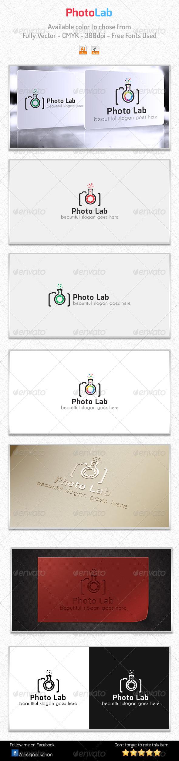 Photo Lab Logo - Symbols Logo Templates