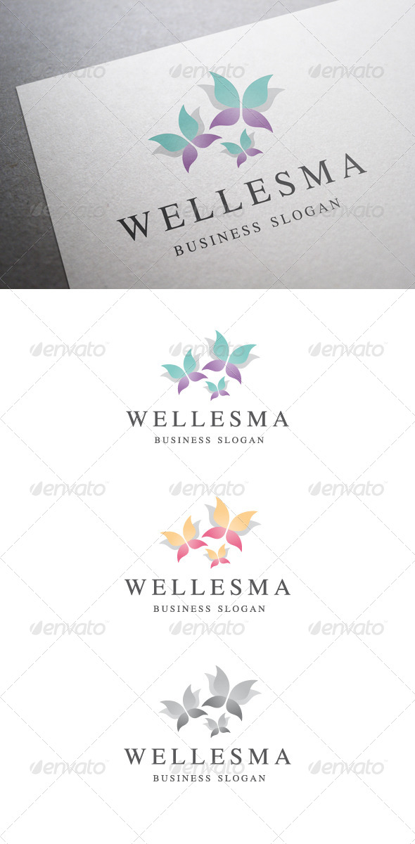 Wellesma Logo V2 - Nature Logo Templates
