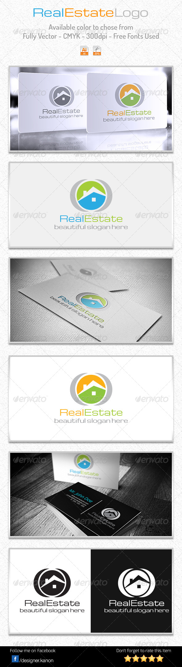 Simple Real Estate Logo - Buildings Logo Templates
