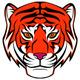 Tiger Head Illustration Set - GraphicRiver Item for Sale