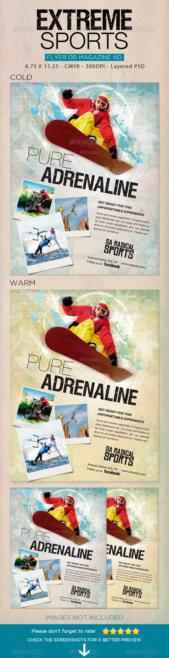 Extreme Sports flyer 2 - Sports Events