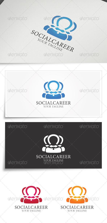 Socialcareer | Logo Template - Logo Templates