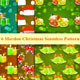 Set of Christmas Seamless Patterns.  - GraphicRiver Item for Sale