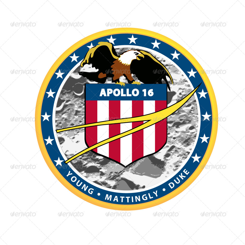 13 NASA Apollo Program Patches by Ozi84 | GraphicRiver