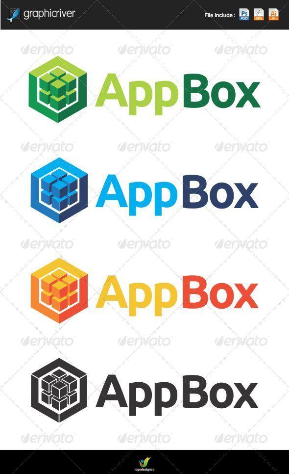 App Box - Symbols Logo Templates