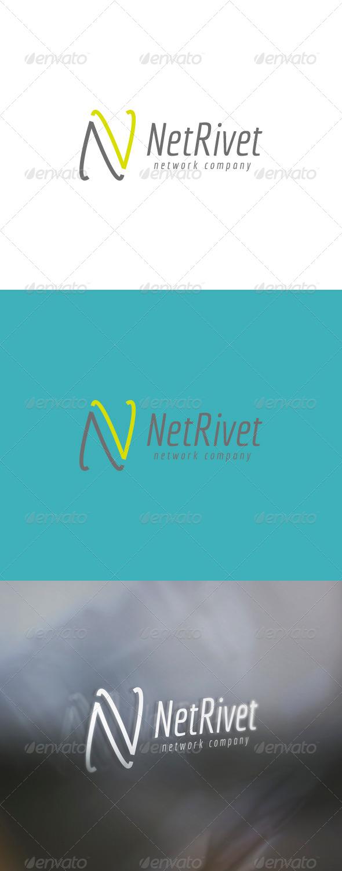 Netrivet Logo - Letters Logo Templates