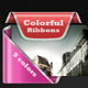 Colorful Ribbons Web - GraphicRiver Item for Sale
