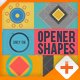 Opener Shapes With Logo Reveal - VideoHive Item for Sale