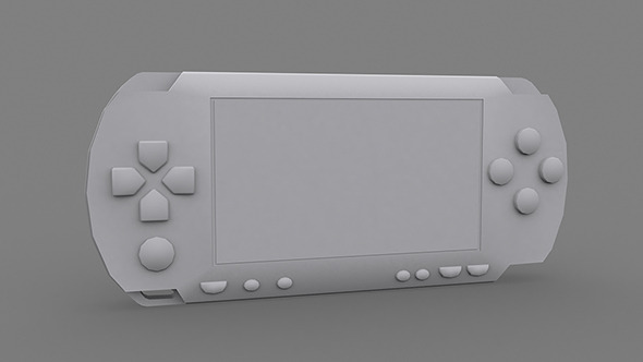 Low Poly PSP - 3DOcean Item for Sale