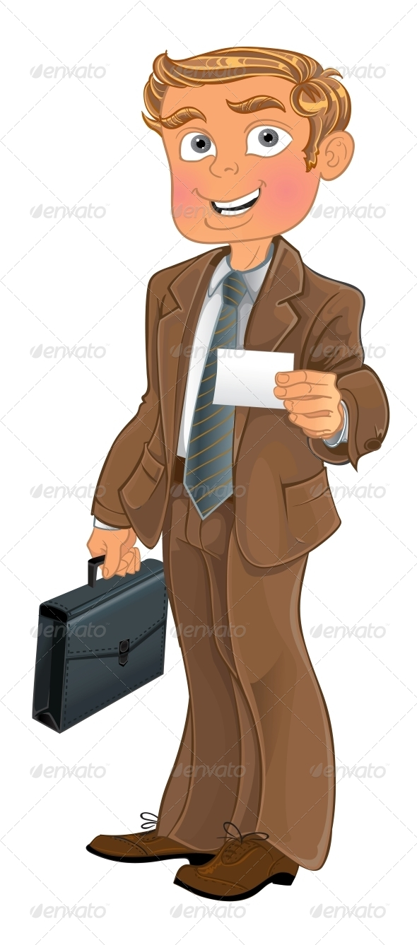 Man in Brown Suit - People Characters