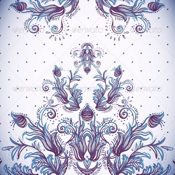 Vintage Background, Baroque Pattern - Patterns Decorative