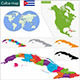 Cuba Map - GraphicRiver Item for Sale
