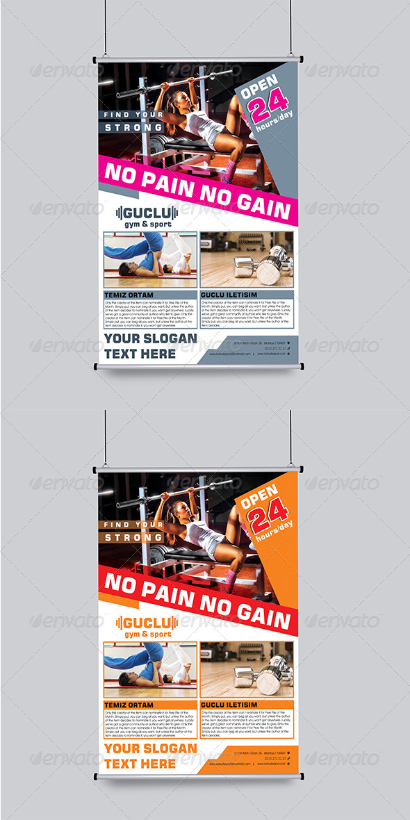 Gym&Sport Flyer Template - Sports Events