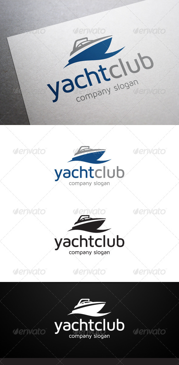 Yacht club logo by flatos graphicriver yacht club logo objects logo templates toneelgroepblik Image collections