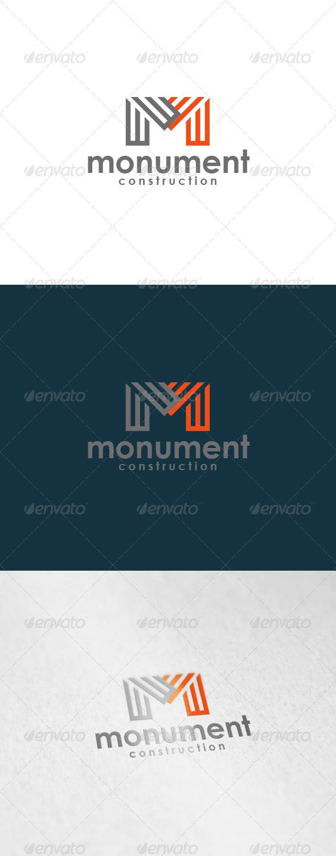 Monument Logo - Letters Logo Templates