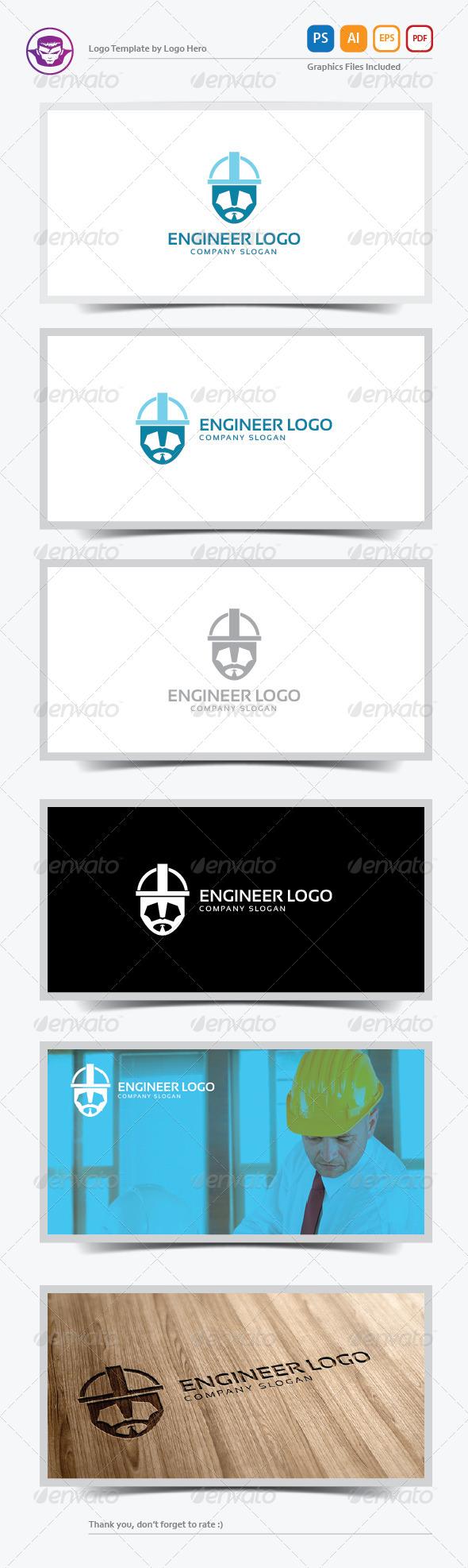 Engineer Logo Template - Humans Logo Templates