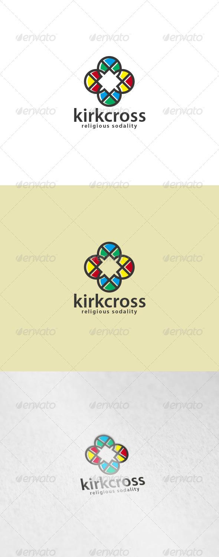 Kirk Cross Logo - Symbols Logo Templates