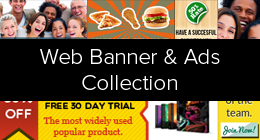 Web Banners & Ads Collection
