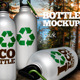 Metallic Bottle Mockup - GraphicRiver Item for Sale