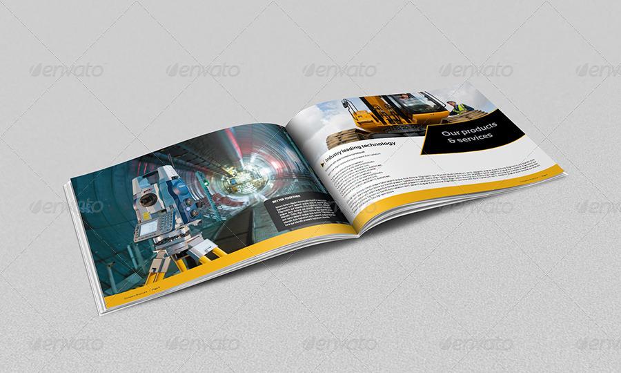 Construction Brochure Template Insssrenterprisesco - Construction brochure templates