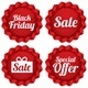 Colorful Black Friday Sale and Special Offer Labels - GraphicRiver Item for Sale