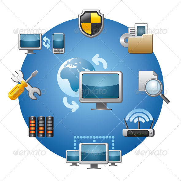 Network Icon Set - Icons
