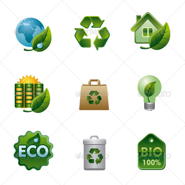 Ecology Icon Set - Icons