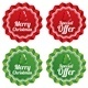 Merry Christmas Special Offer Price Tags Set - GraphicRiver Item for Sale