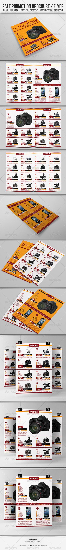 Sale Promotion Brochure/Flyer - Commerce Flyers