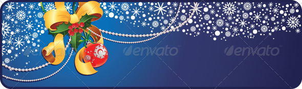 Christmas and New Year Banner - Christmas Seasons/Holidays