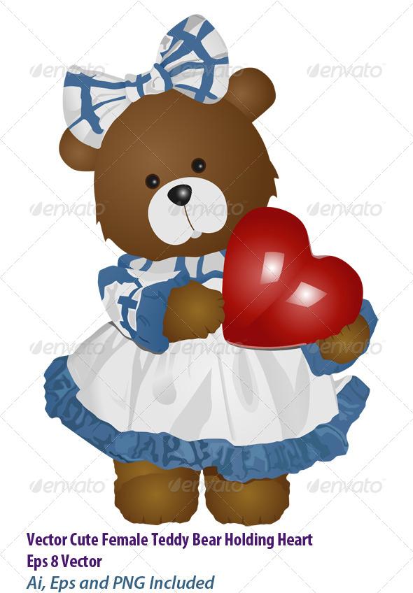 Lady Teddy - Valentines Seasons/Holidays